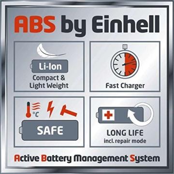 Einhell Akku Rasentrimmer GE-CT 18 Li Set Power X-Change (Lithium Ionen, 18 V, 24 cm Schnittbreite, teleskopierbar, inkl. 2,0 Ah Akku und Ladegerät) -