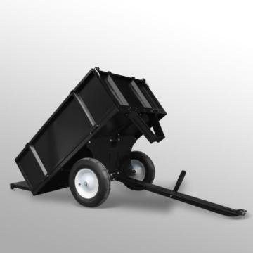 Anhänger für Aufsitzmäher Rasentraktor kippbar 300 kg -