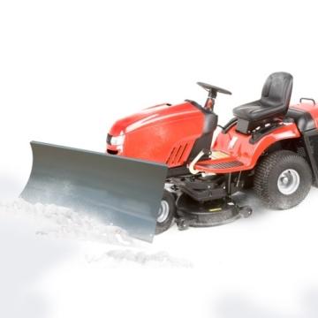Schneeschild Schneepflug Schneeschieber für Quad ATV Rasentraktor 100x40cm -