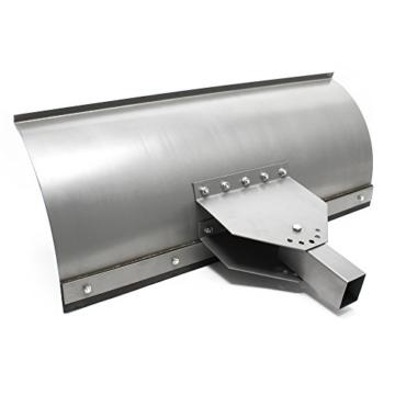 Universal Schneeschild 1000x400mm verstellbar für Rasentraktor Schneepflug Schneeschieber -