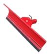 Universal Schneeschild / Hochwertig rot pulverbeschichtet / Breite: 125 cm - Höhe 40cm / Für Einachser Rasentraktor Quad Atv -