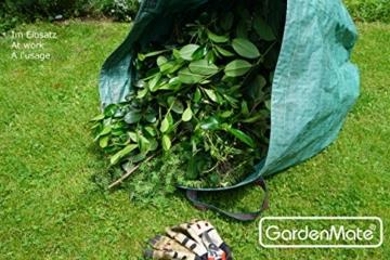 GardenMate® 2x 500L Gartensack PROFESSIONAL aus robustem Polypropylen-Gewebe (PP) -